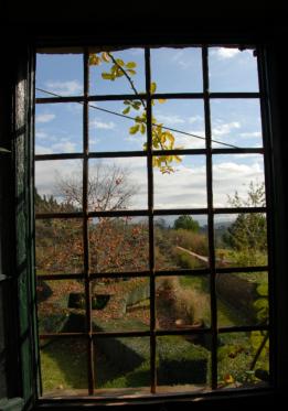 Vista sul giardino all'italiana